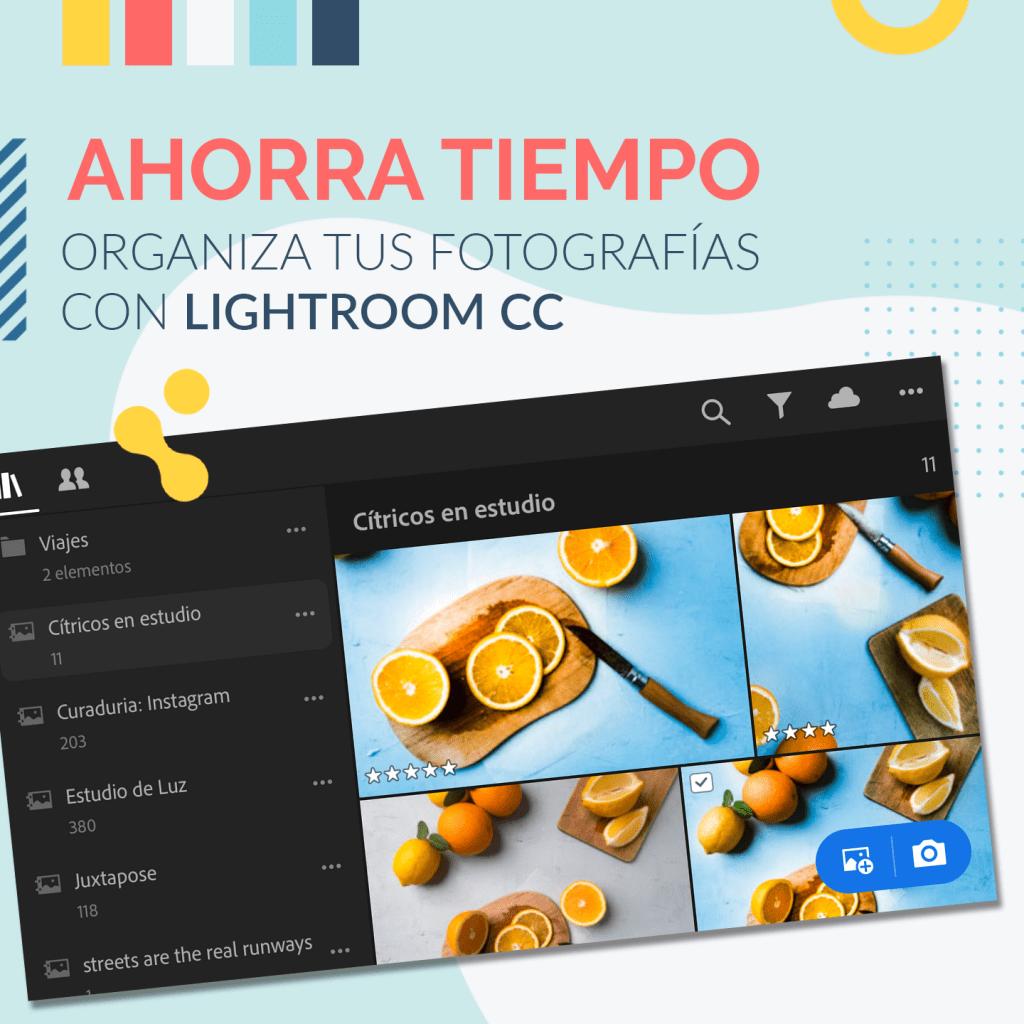 clases de fotografia aprende fotografia organiza tus fotografias con lightroom cc adobe tutorial youtube la camaraderia