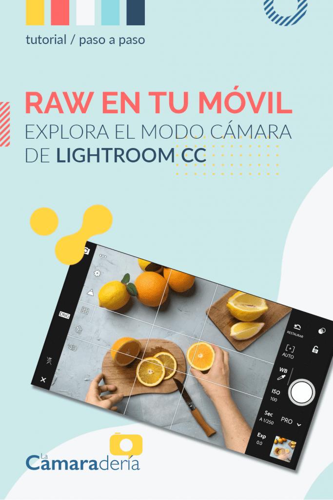 formato raw hacer fotografias lightroom mobile celular